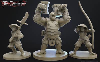 Tio Dynasty - Atsua Sculpts