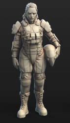 SCIFI Armour Concept