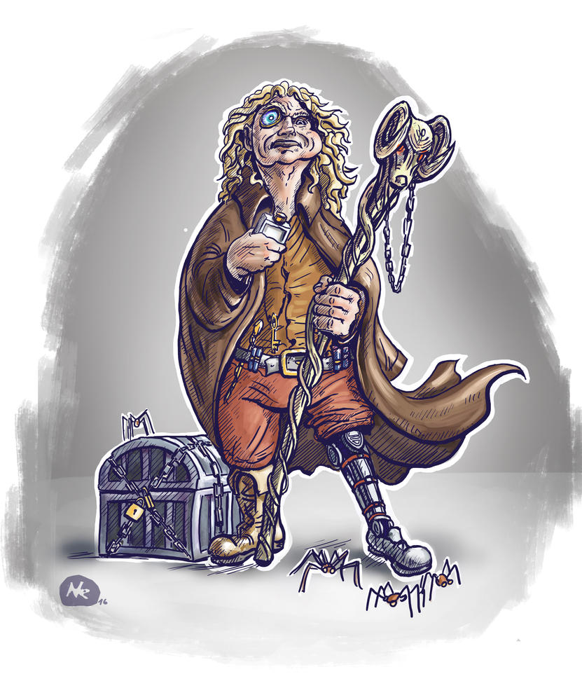 Mad Eye Moody - character design by Ninorabbi