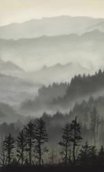 Landscape study by Ninorabbi