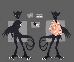 Custom: Chokethroat by CursedCorvidae