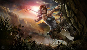 Lara Croft Tomb Raider Reborn Contest