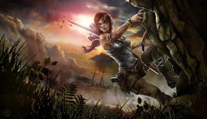 Lara Croft Tomb Raider Reborn Contest