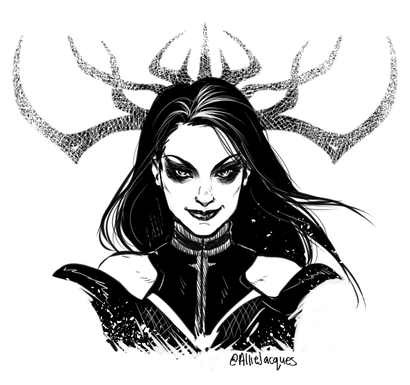 Hela by AllieJacques