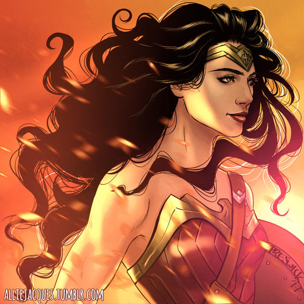 Wonder Woman by AllieJacques