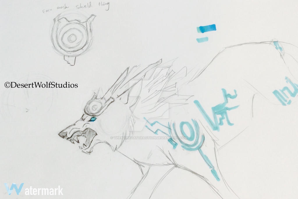 Hyrule Warriors Wolf Link Practice By Themanedattraction On Deviantart