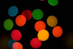 christmas tree bokeh stock by twigstock