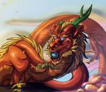 Sky Emperor by ohwyrm