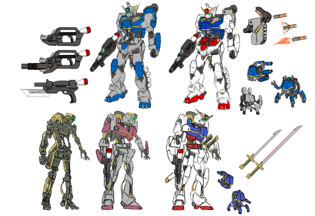 original gundam series