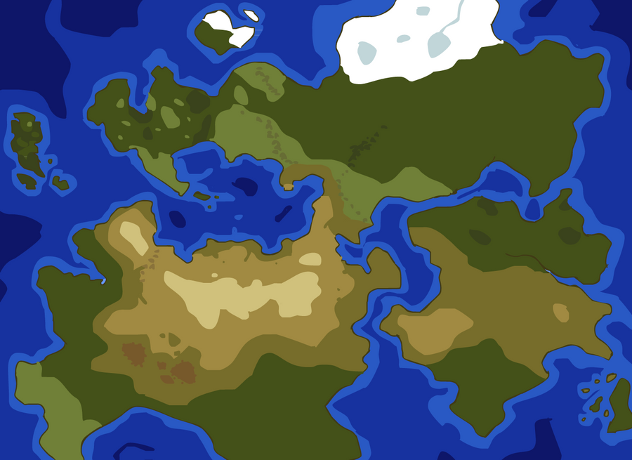 Game world map by will e h on deviantart game world map by will e h gumiabroncs Gallery