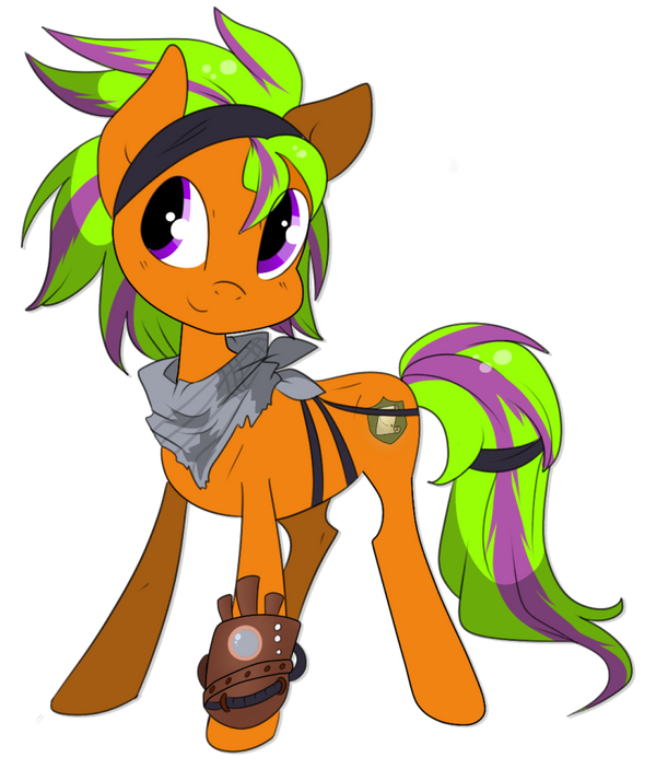 Commission: Chibi Starbuck by Rannarbananar