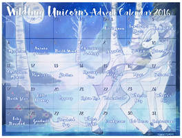 Wildling Unicorns Advent Calendar 2016 (SOLD OUT) by Rannarbananar