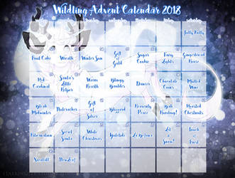 (Sold out!) Wildling Unicorn Advent Calendar 2018!