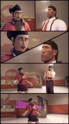 [SFM] Trying to steal his heart by MrFestive1