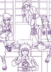 Naruto Shippuden Team 10 by Kinkisu
