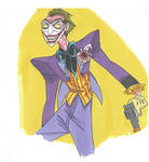 Marker sketch: The Joker