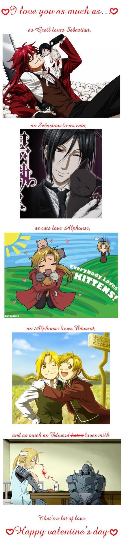 Anime valentine's by SexyAussieKirkland