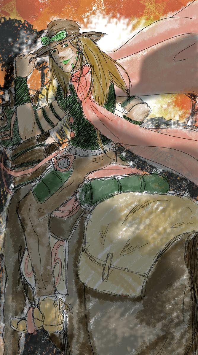 Gyro Zeppeli by Liloo-1412