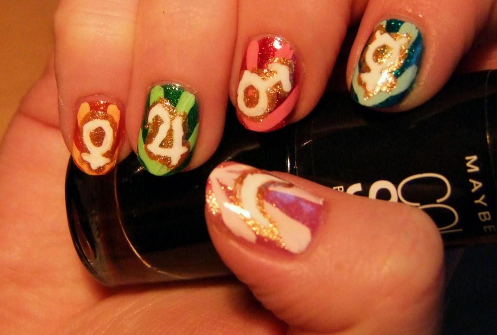 Sailor moon nail art by lyralein on deviantart sailor moon nail art by lyralein prinsesfo Image collections