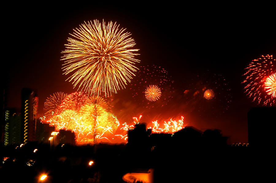 Fireworks by ChocoCooki