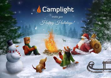 Christmas Card by skachkov