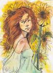 Here comes the Sun (Helia) ACEO