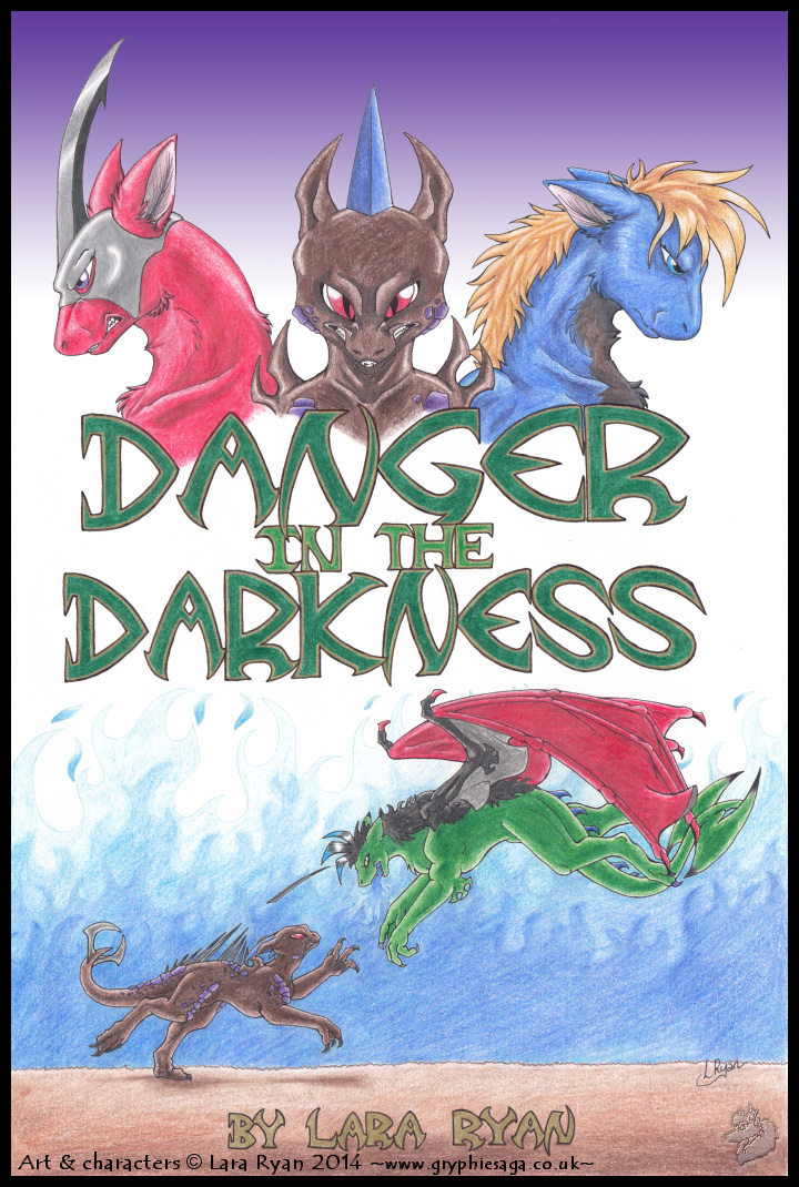 -Danger in the Darkness book cover- by Silvolf