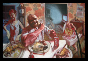 The Meat Eaters by michaelschulbaum