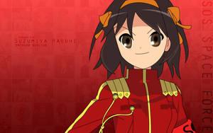 Suzumiya Haruhi by edekock