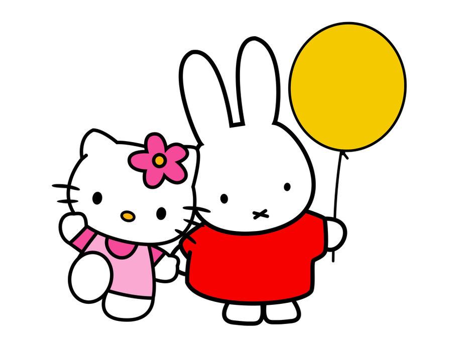 Miffy Hello-Kitty C by edekock