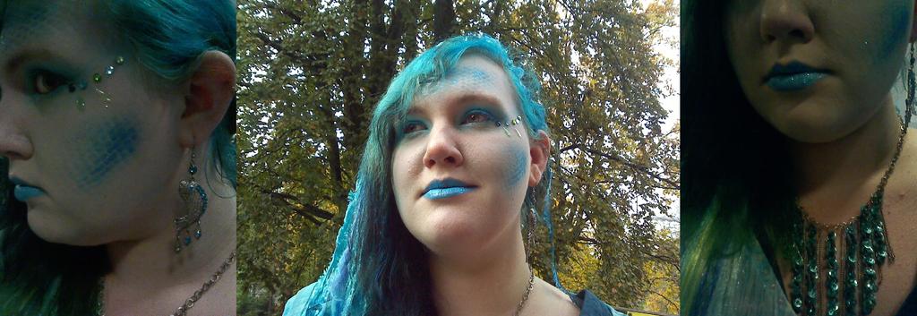 Mermaid Makeup by mermaidella