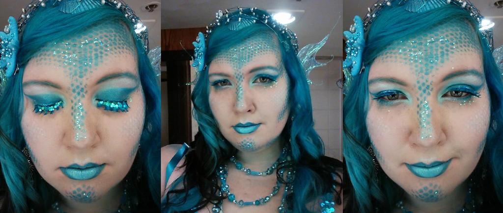 Betta Mermaid Queen (Selfies) by mermaidella