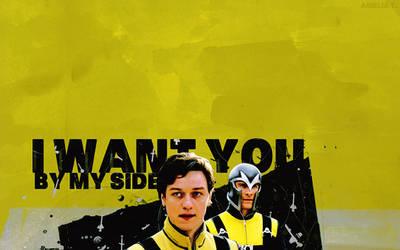 X-Men - Erik, Charles by AmeliaTonks