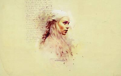 Khaleesi by AmeliaTonks
