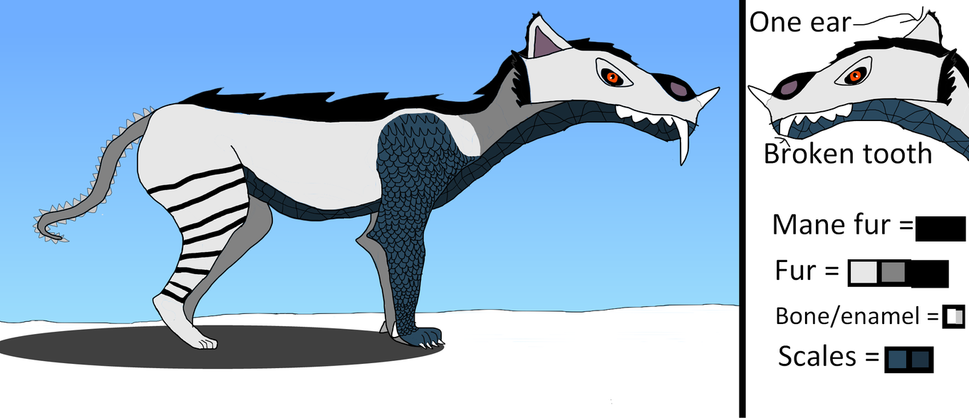 Mythical creature: The Artic Xenobeast by zGUILTYSP4RT4Nz