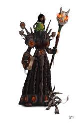 WoW: Female Orc Warlock