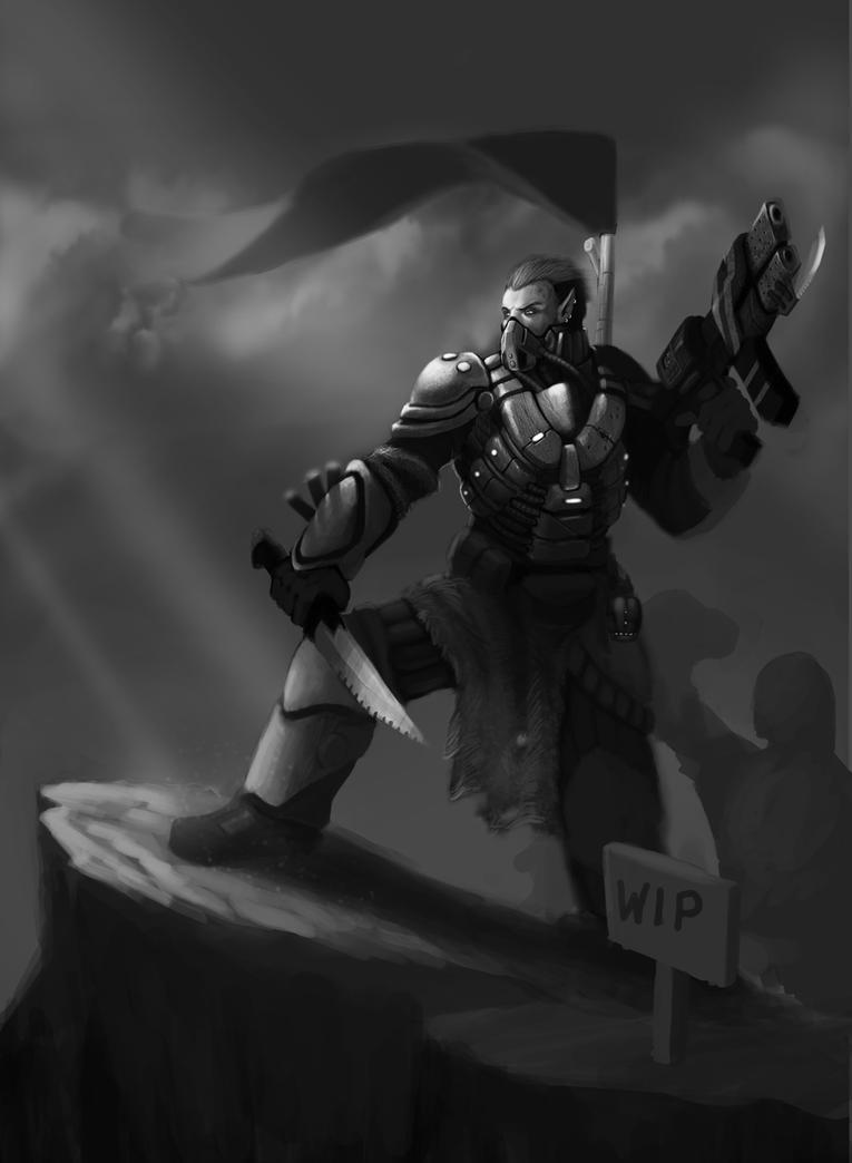 Chief by Adrian-W