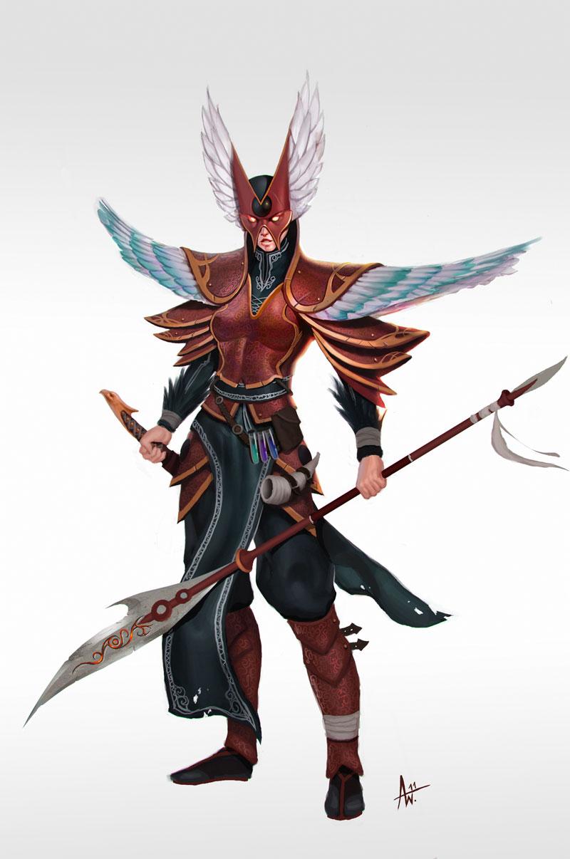 Phoenix Guardian by Adrian-W