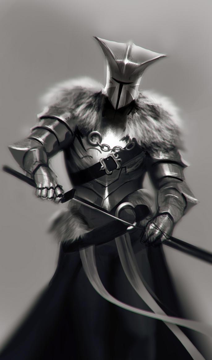 Knight-Sketch by Adrian-W