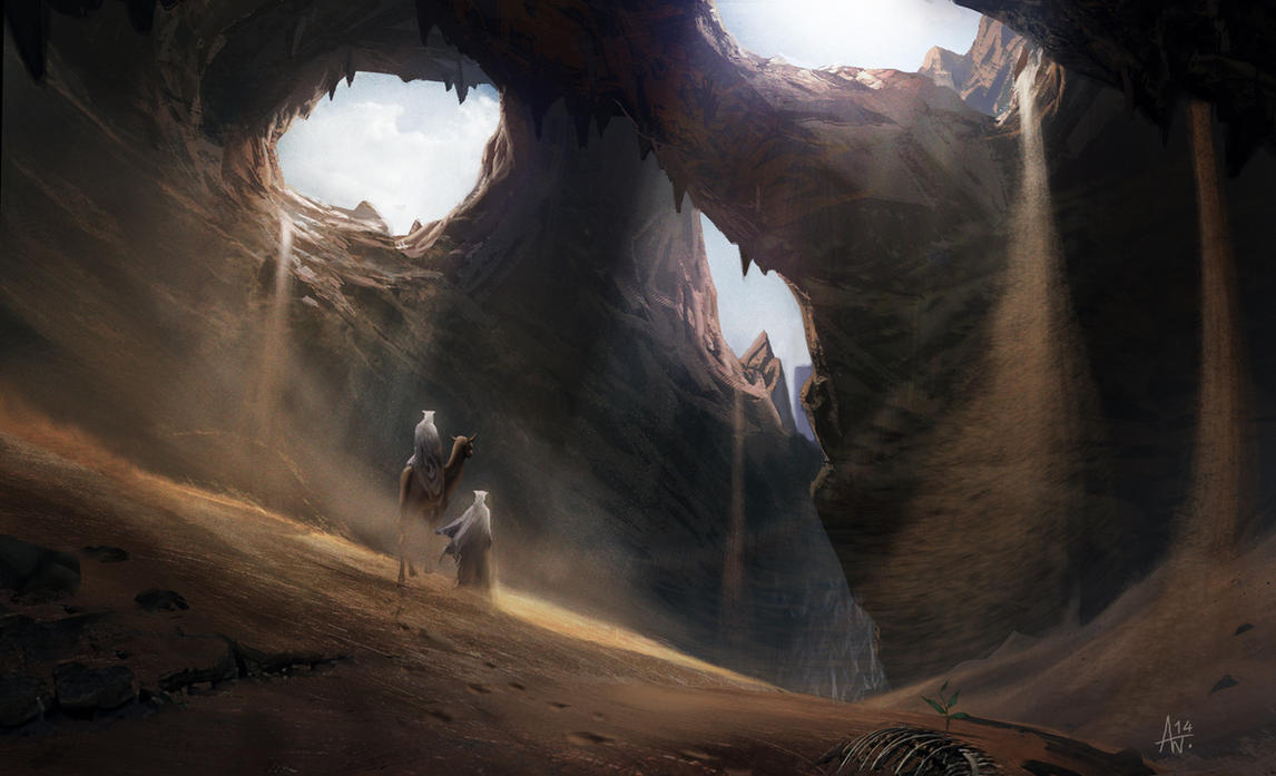 Skull-Cave by Adrian-W