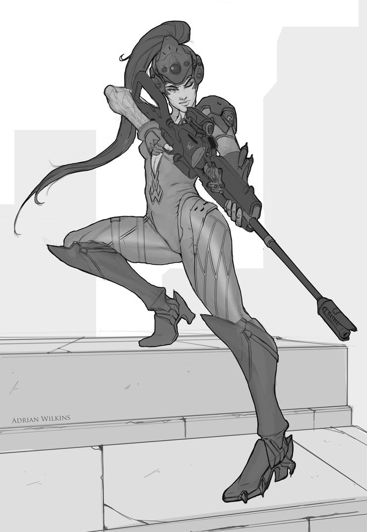 Overwatch Widowmaker by Adrian-W