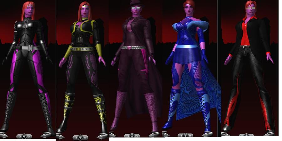Trix's Costume Spread by zerry