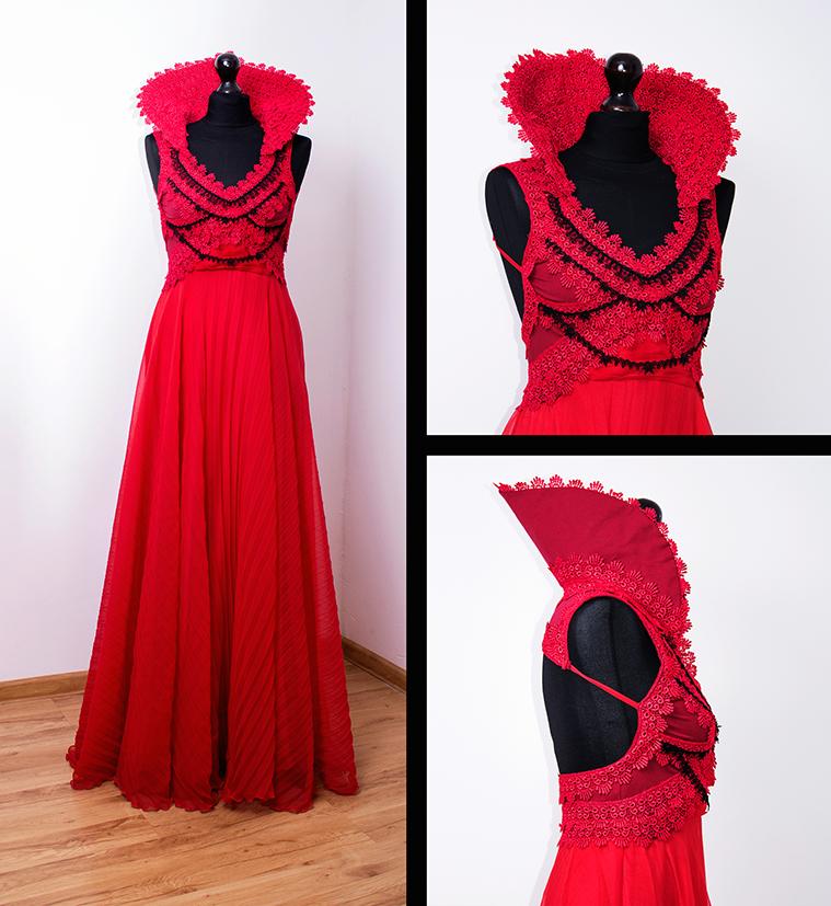 Red dress by Dolores-de-Ville