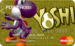 POWERcard - Purple Yoshi by NarutardST