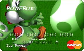 POWERcard - Yoshi by NarutardST