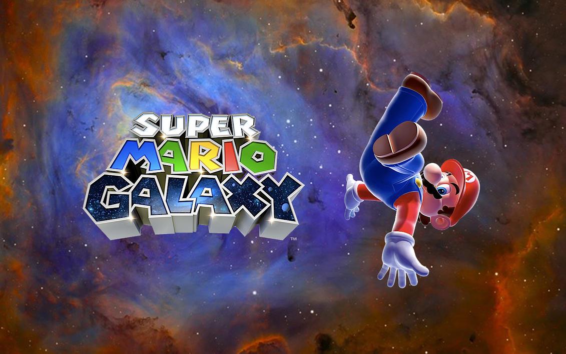 Super Mario Galaxy Wallpaper: Super Mario Galaxy Wallpaper By NarutardST On DeviantArt