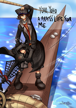 A pirate's life for Sora