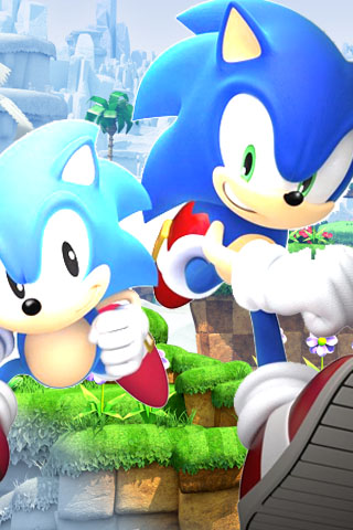 sonic i phone wallpaper by sonicandshadow104 on deviantart