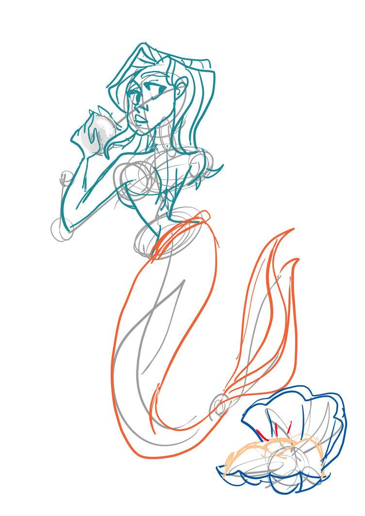 Mermaid by CaterinaFrata