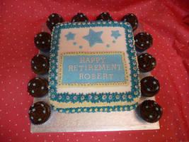 Retirement Cake by cakesbylorna